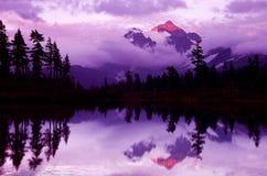 góra shuksan Fotografia Stock