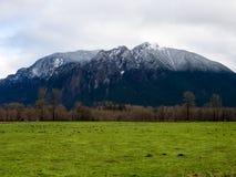Góra Si w Północnym chyle, stan washington Zdjęcie Stock