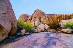 Góra skały w Hampi Zdjęcie Royalty Free