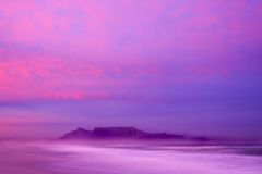 góra sunrise stół Zdjęcia Stock