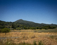 Góra Tamalpais, Marin okręg administracyjny, CA Zdjęcia Stock