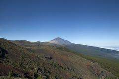 Góra Teide przy Tenerife, wyspy kanaryjskie fotografia stock