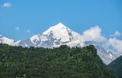 Góra Tetnuldi w Gruzja Obrazy Stock