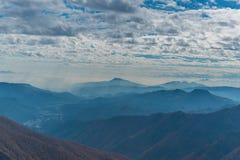 Góra Tnigawa zdjęcie stock
