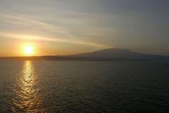 Góra Vesuvius, Włochy Zdjęcie Royalty Free