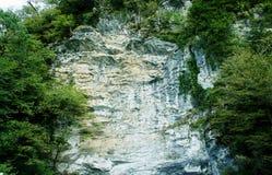 Góra w Abkhazia fotografia stock