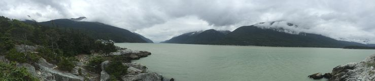 Góra w Alaska Fotografia Royalty Free