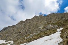 Góra w Durmitor, Montenegro Zdjęcia Royalty Free