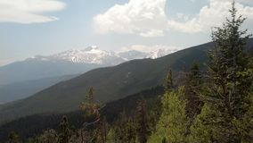 Góra w Estes parku, CO Obraz Stock