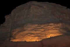 Góra w Judejskiej pustyni blisko Nieżywego morza Fotografia Royalty Free