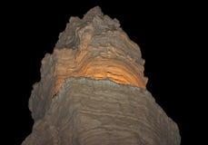 Góra w Judejskiej pustyni blisko Nieżywego morza Zdjęcie Stock