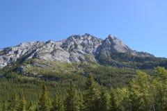 Góra w Kananaskis zdjęcie royalty free