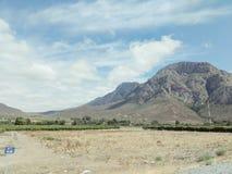 Góra w pustyni, Południowa Afryka Obrazy Stock