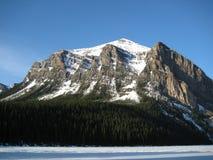 Góra W ranku słońcu zdjęcie stock