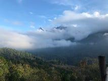 Góra w tajlandzkim Obraz Royalty Free