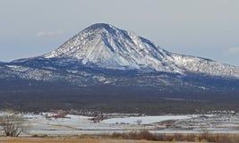 Góra w zimie Obrazy Royalty Free