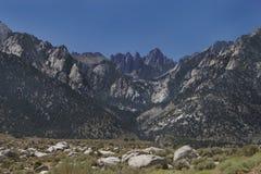 góra Whitney Zdjęcie Stock