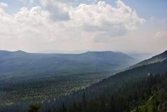 Góra widok Fotografia Royalty Free