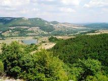 Góra widok Zdjęcia Stock