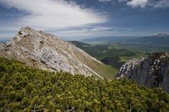góra wierzchołek Obraz Royalty Free