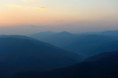góra wschód słońca Zdjęcia Royalty Free