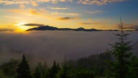 góra wschód słońca zbiory wideo