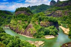 Góra Wuyi Zdjęcie Stock