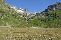 Góra wycieczkuje w Kaukaz Fotografia Royalty Free