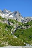 Góra wycieczkuje w Kaukaz Obraz Royalty Free