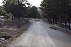 Góra Wyginająca się droga Zdjęcie Stock