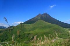 Góra Yufu, Yufuin, Oita, Japonia Fotografia Royalty Free