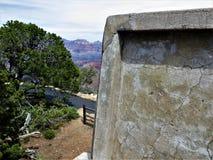 Góra, zabytek i niebo, Grand Canyon zdjęcie stock