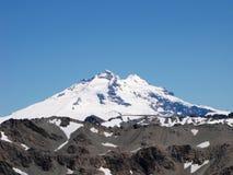 Góra zakrywająca śnieg w Bariloche, Argentyna Fotografia Royalty Free