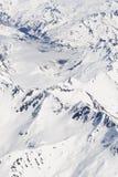 góra zakrywający śnieg Fotografia Stock