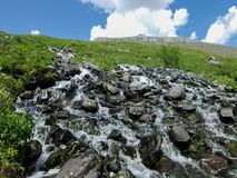 Góra zero na Altai Obrazy Royalty Free