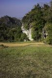 Górkowaty Krajobrazowy Nan, Tajlandia Fotografia Stock