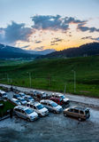 Górkowaty teren, park narodowy Fotografia Royalty Free