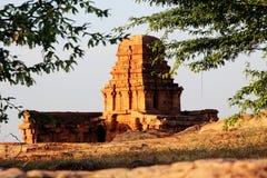 Górna Shivalaya świątynia, Badami obrazy royalty free