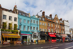Górna ulica w Londyn Fotografia Royalty Free