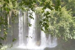 Górne Duden siklawy w Antalya Fotografia Royalty Free