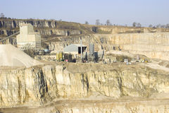 górnictwo Obrazy Stock