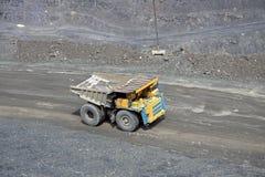 górnicza ciężarówka Zdjęcia Royalty Free