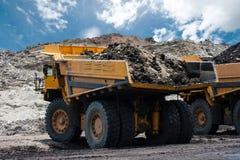 Górnicza ciężarówka Fotografia Royalty Free