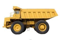 Górnicza ciężarówka odizolowywa Zdjęcia Stock