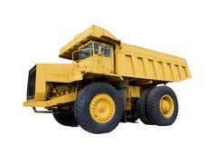 Górnicza ciężarówka odizolowywająca Obrazy Stock