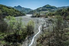 Górnicza katastrofa Zdjęcia Stock
