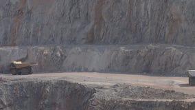 Górnicza usyp ciężarówka zdjęcie wideo