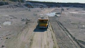 Górniczy ciężarowy odtransportowanie zbiory