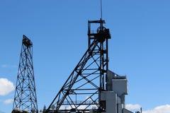 Górniczy giganty Butte Montana zdjęcie royalty free