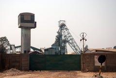 Górniczy miejsce Obrazy Stock